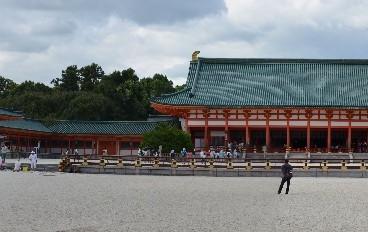heian-schrein-panorama