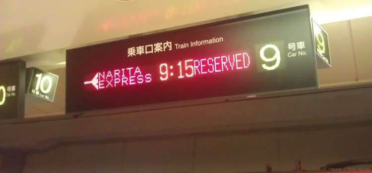 Unterwegs nach Japan