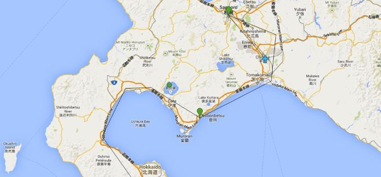 Japan Trip Itinerary – Chapter 1: Hokkaido