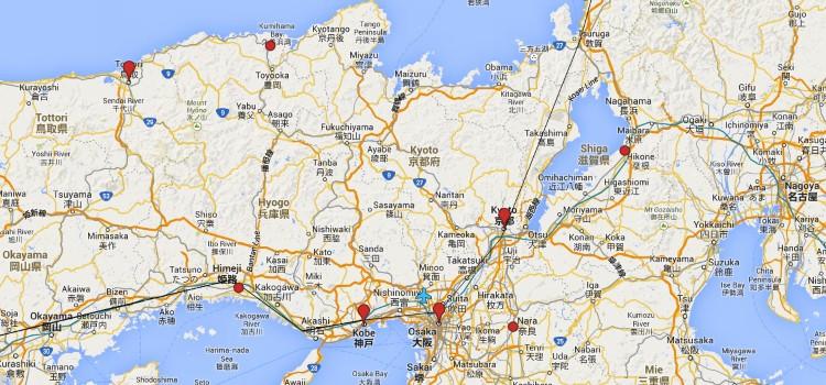 Japan Trip Itinerary – Chapter 2: Kansai